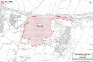 SHLAA site option 5 Bourn Airfield