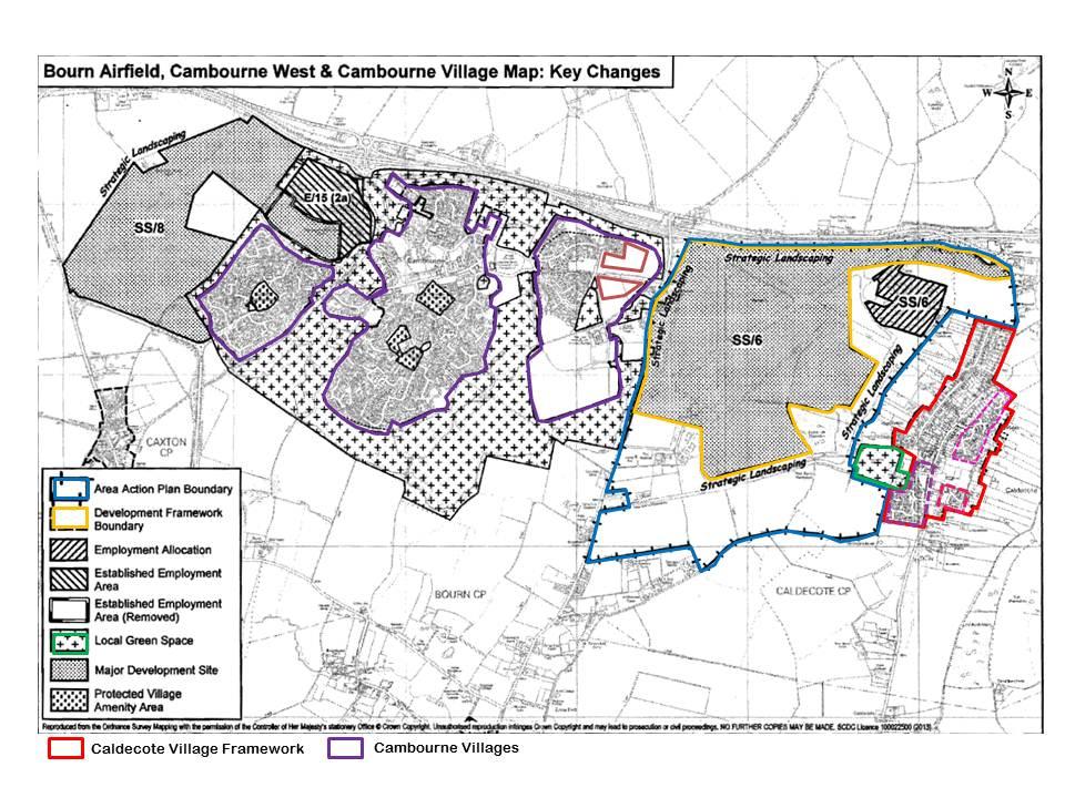 bourn airfield development proposal